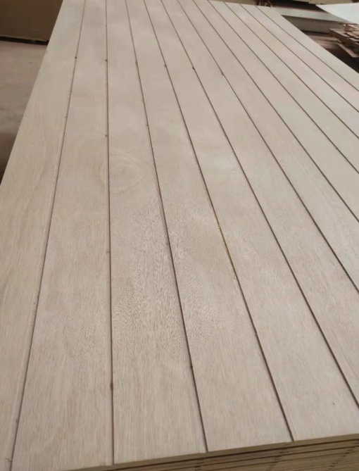 grooved panel plywood